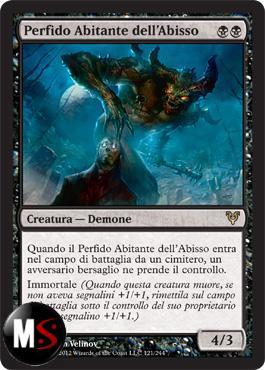 PERFIDO ABITANTE DELL'ABISSO
