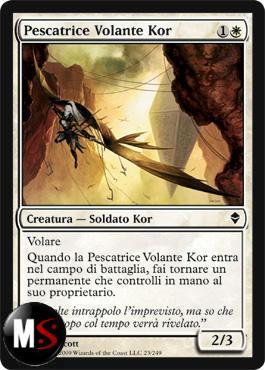 PESCATRICE VOLANTE KOR - FOIL PROMO