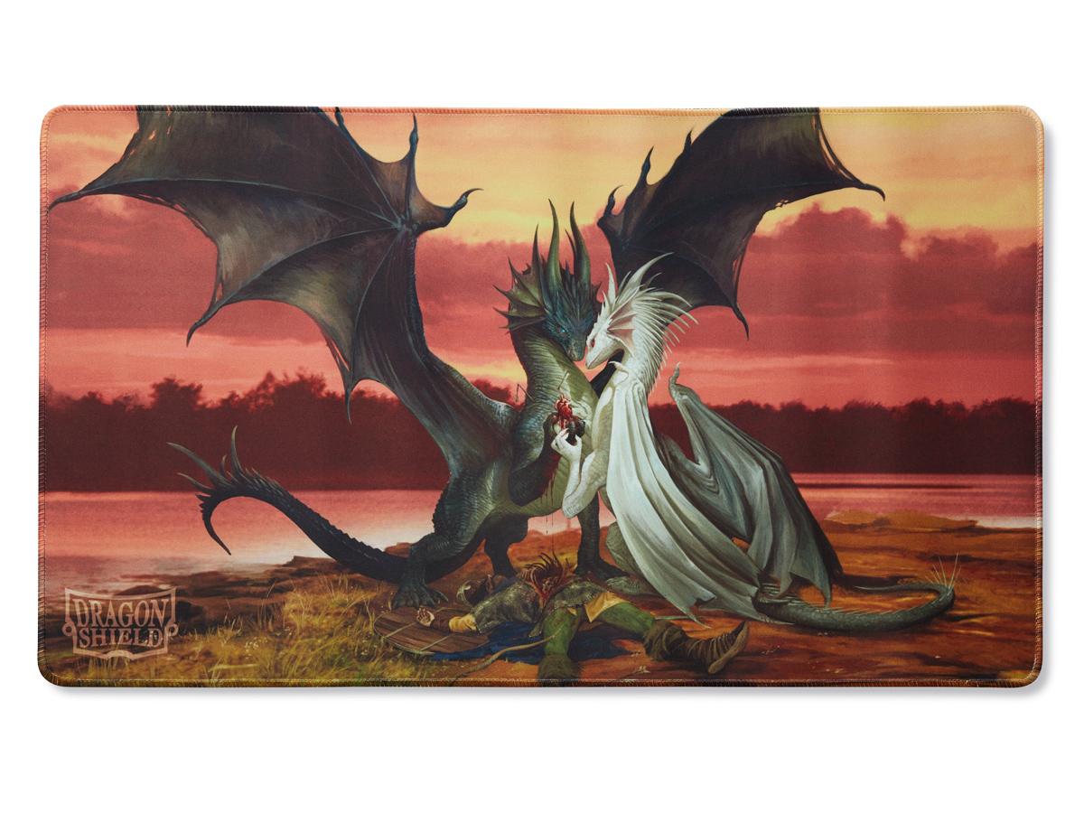 DRAGON SHIELD PLAYMAT - VALENTINE DRAGONS