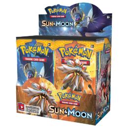 POKEMON SUN & MOON - BOX DA 36 BUSTE ING