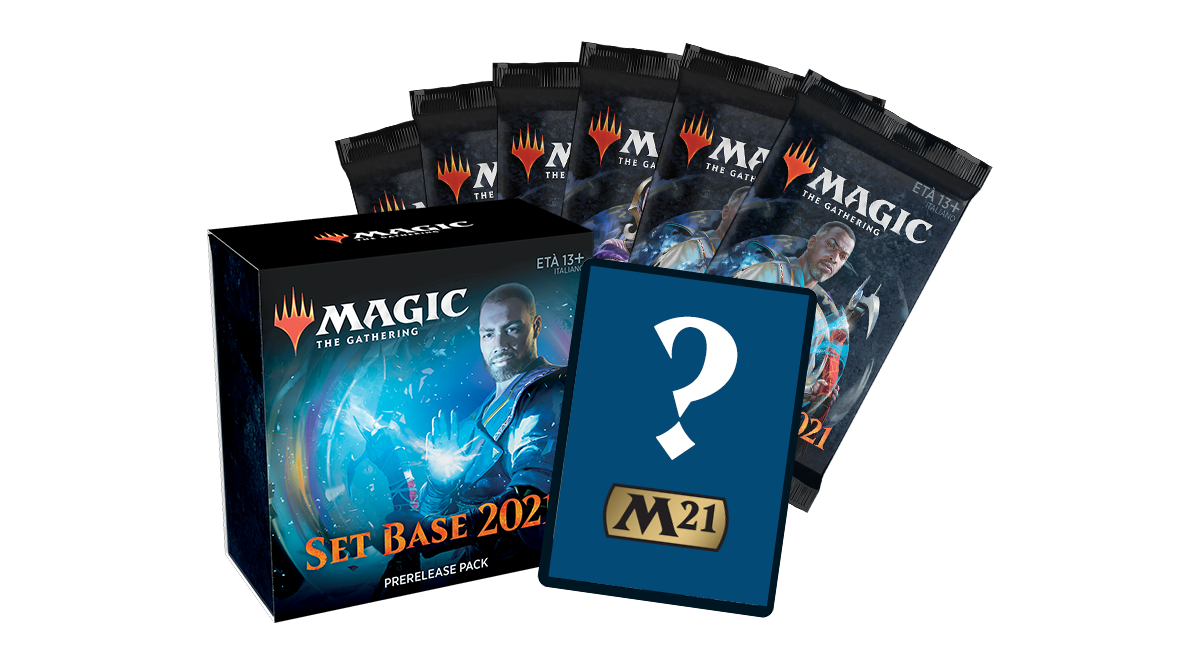 M21 SET BASE PRERELEASE PACK ITALIANO