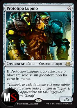 PROTOTIPO LUPINO - FOIL