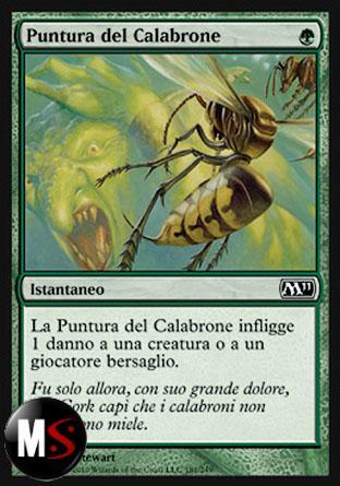 PUNTURA DEL CALABRONE