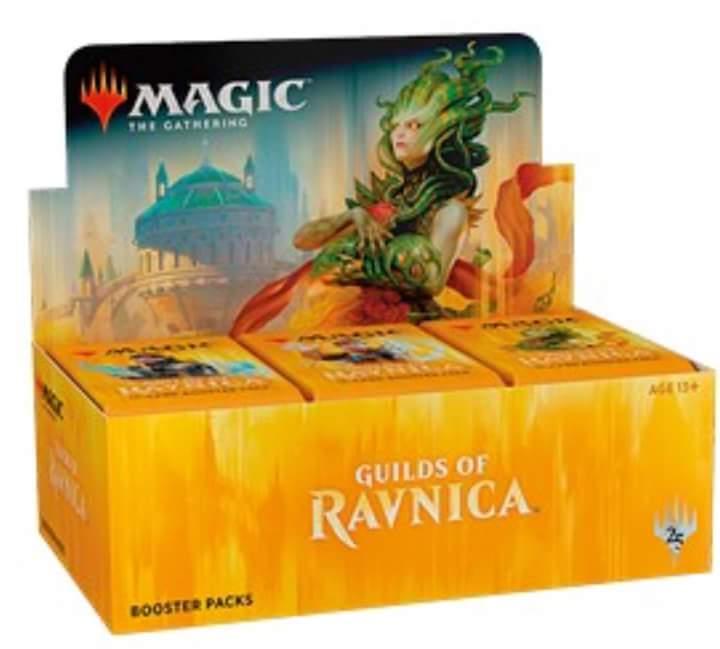 GILDE DI RAVNICA - BOX 36 BUSTE INGLESE