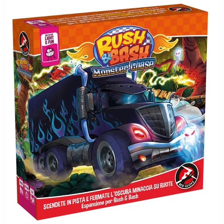RUSH & BASH - MONSTER CHASE - ESPANSIONE IN ITALIANO