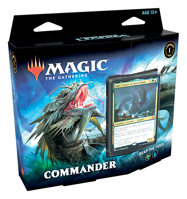 COMMANDER LEGENDS - MAZZO BLU VERDE - ITALIANO