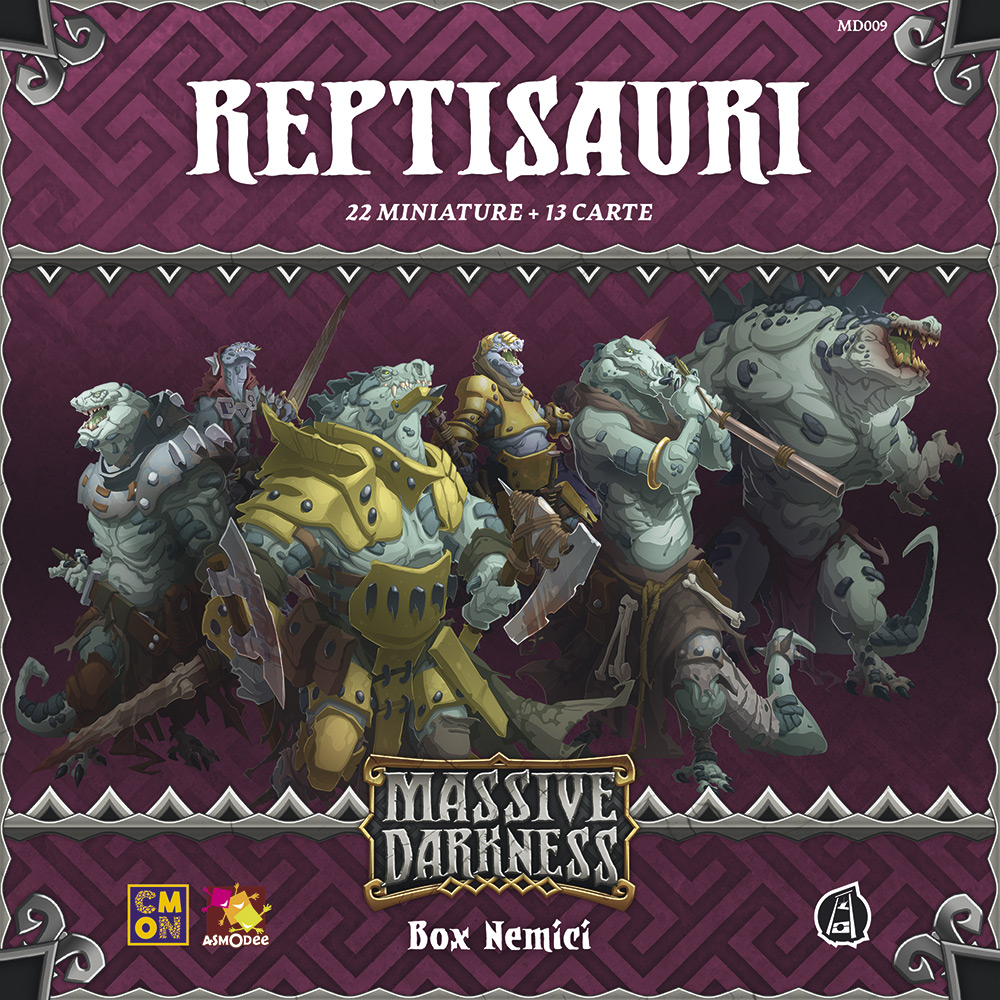 MASSIVE DARKNESS - REPTISAURI