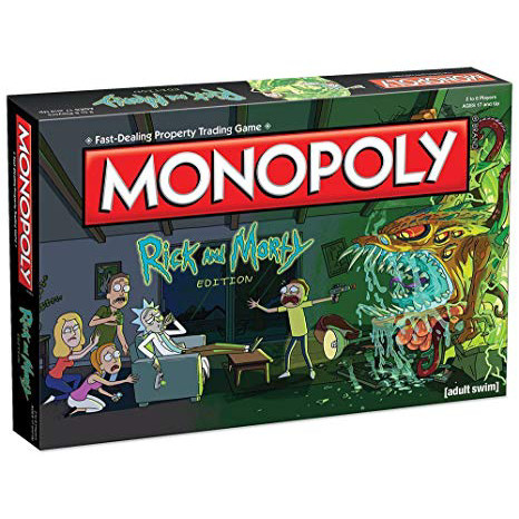 MONOPOLY - RICK AND MORTY - ITALIANO