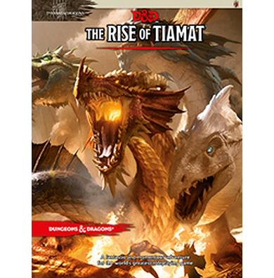D&D THE RISE OF TIAMAT - ADVENTURE