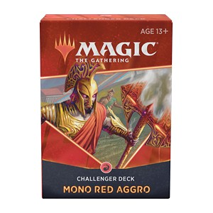 CHALLENGER DECKS 2021 - MONO RED AGGRO - INGLESE