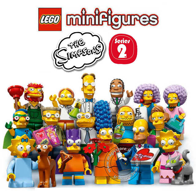 60-Booster Box *IN STOCK* Lego Minifigures Serie The Simpsons 2 71009 60 Buste