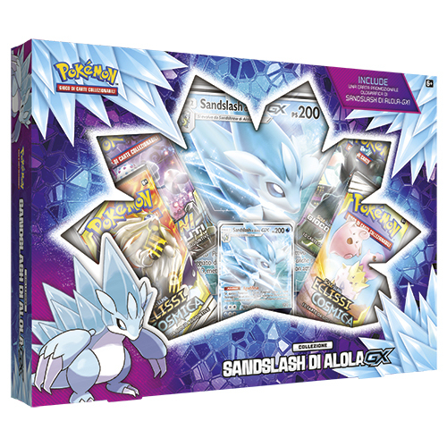 POKEMON SANDSLASH DI ALOLA-GX  BOX IT