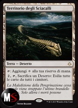 TERRITORIO DEGLI SCIACALLI - FOIL