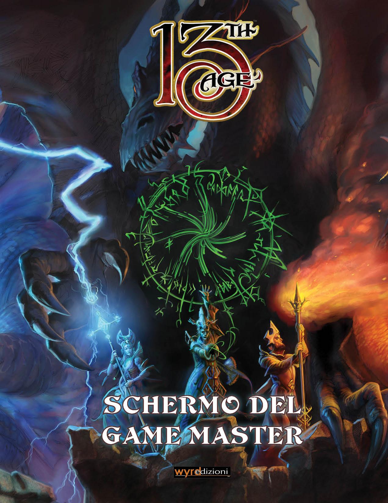 13TH AGE - SCHERMO DEL GAME MASTER