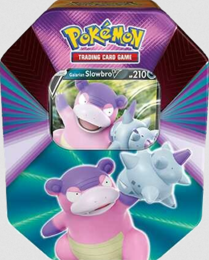 POKEMON TIN DA COLLEZIONE - V FORCES 1 PZ SLOWBRO