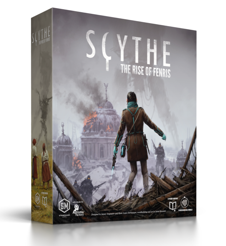 SCYTHE: THE RISE OF FENRIS - ITALIANO