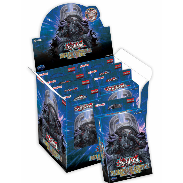 IMPERATORE DELL'OSCURITA' STRUCTURE DECK (BOX 8 MAZZI)