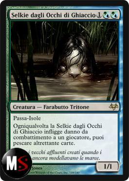 SELKIE DAGLI OCCHI DI GHIACCIO