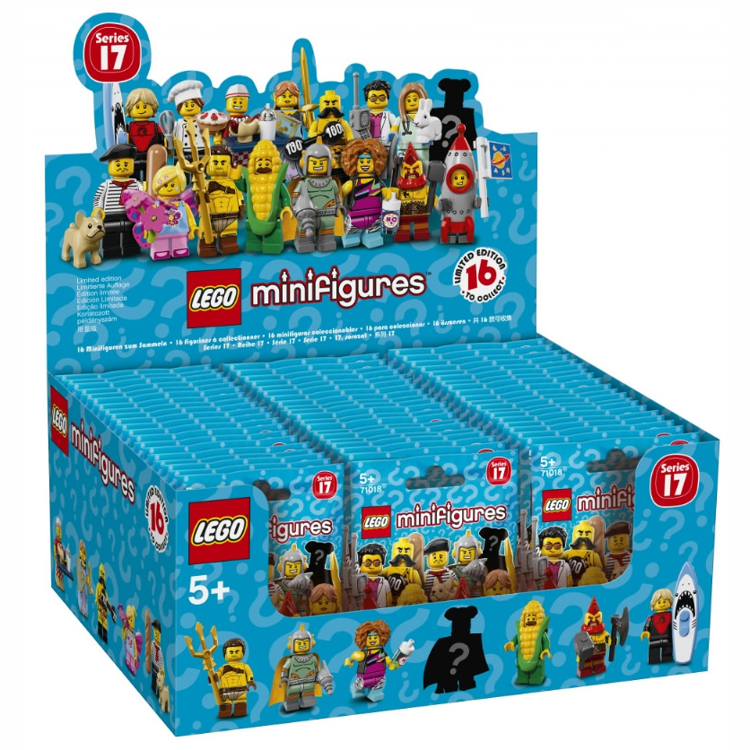 LEGO MINIFIGURES - SERIES 17 - BOX 60 BUSTE