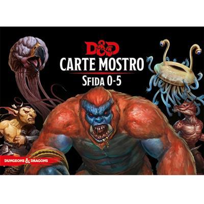 DUNGEONS & DRAGONS 5A EDIZIONE - MAZZO CARTE MOSTRO: SFIDA 0-5