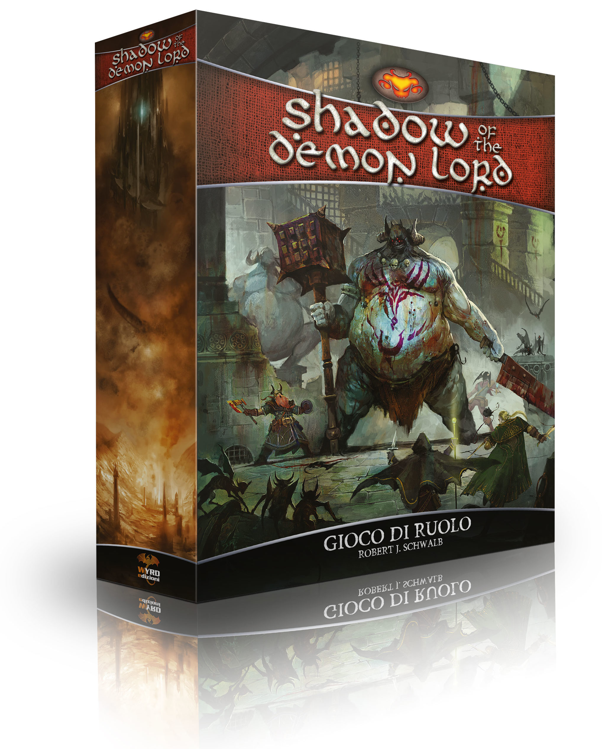 SHADOW OF THE DEMON LORD - MANUALE BASE