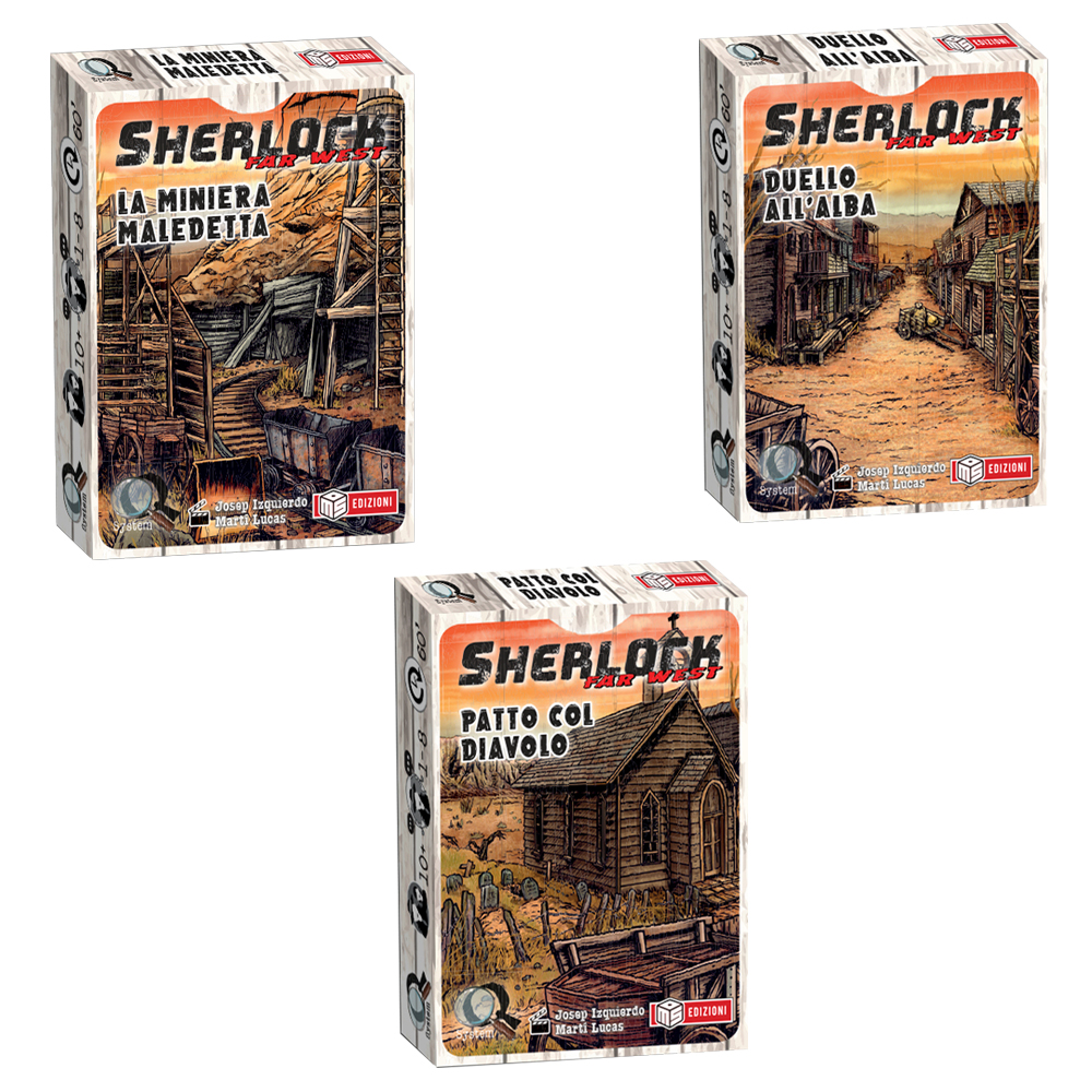 SHERLOCK - BUNDLE 3 CASI - FAR WEST
