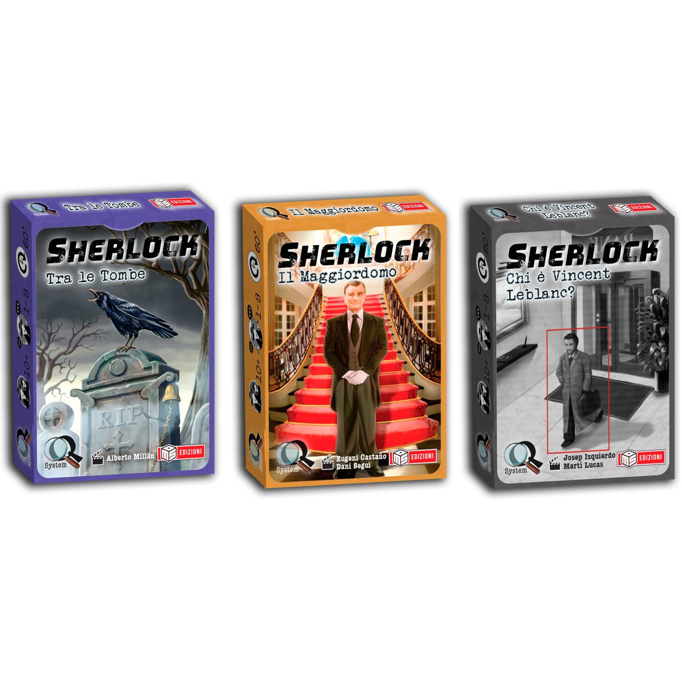 SHERLOCK - SERIE 3 - BUNDLE 3 CASI
