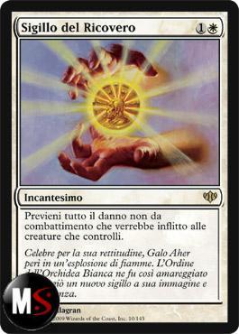 SIGILLO DEL RICOVERO - FOIL MINT ITA - CONFLUX