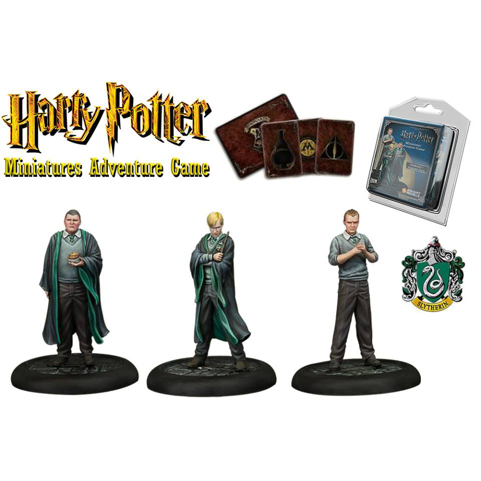 HP SLYTHERIN STUDENTS MINIATURE ADVENTURE GAME