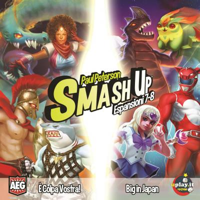 SMASH UP: È COLPA VOSTRA! & BIG IN JAPAN - ESPANSIONI 7-8