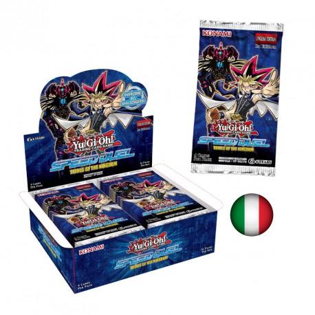 SPEED DUEL - PROVE DEL REGNO - BOX 36 BUSTE ITA