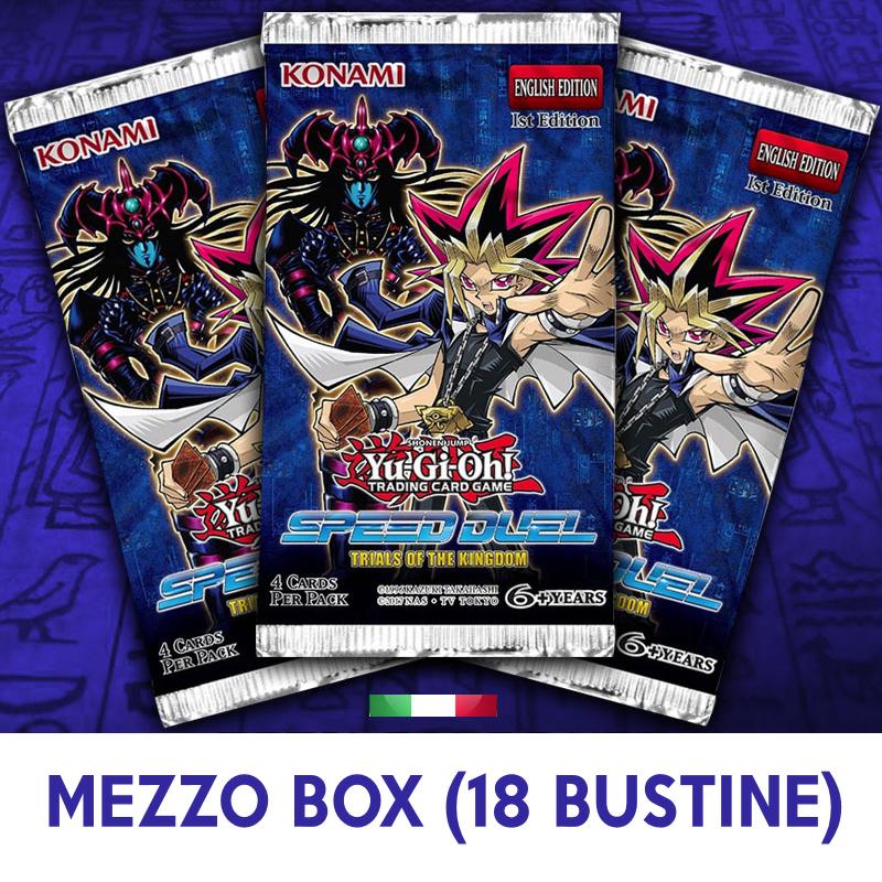 SPEED DUEL - PROVE DEL REGNO - MEZZO BOX 18 BUSTE ITA