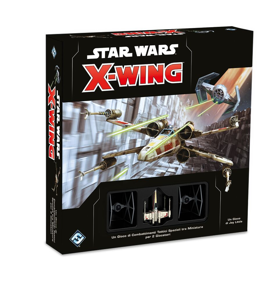 STAR WARS - X-WING - CORE SET MINIATURES GAME SECONDA ED.