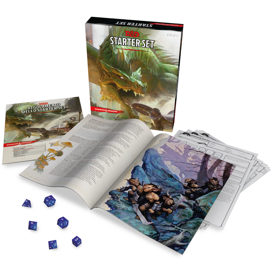 DUNGEONS & DRAGONS 5A EDIZIONE - STARTER SET