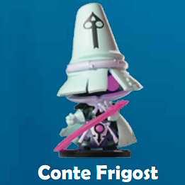 STATUA XXL - CONTE FRIGOST - 25 CM