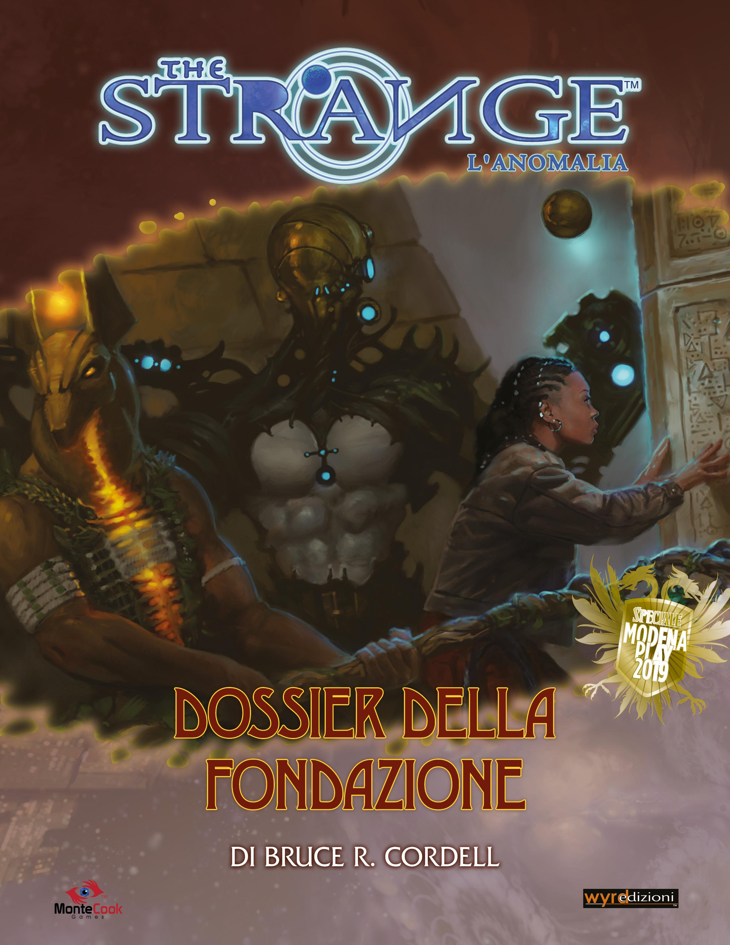THE STRANGE - GLIMMER 13: IL DOSSIER DELLA FONDAZIONE