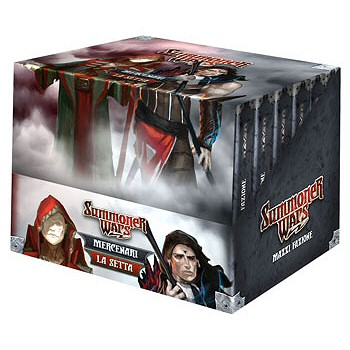 SUMMONER WARS - MAZZI FAZIONE 1 - DISPLAY 12 PZ (LA SETTA E MERCENARI)
