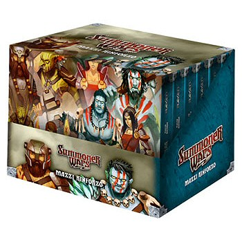 SUMMONER WARS - MAZZI RINFORZI 1 - DISPLAY 12 PZ (RUKAR E GRUNGOR)