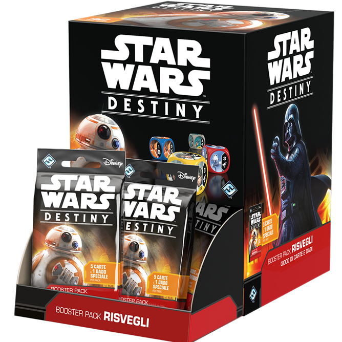 STAR WARS: DESTINY - BOOSTER PACK RISVEGLI (BOX 36 PZ)