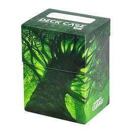 UGD BASIC DECK CASE 80+ STANDARD SIZE LANDS EDITION - FOREST 1