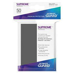 UGD SUPREME UX SLEEVES STANDARD SIZE - DARK GREY (50)