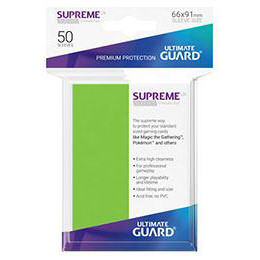 UGD SUPREME UX SLEEVES STANDARD SIZE - LIGHT GREEN (50)