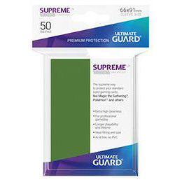 UGD SUPREME UX SLEEVES STANDARD SIZE - GREEN (50)