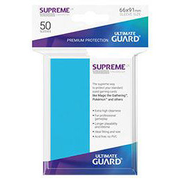 UGD SUPREME UX SLEEVES STANDARD SIZE - LIGHT BLUE (50)