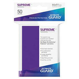 UGD SUPREME UX SLEEVES STANDARD SIZE - PURPLE (50)
