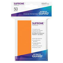 UGD SUPREME UX SLEEVES STANDARD SIZE - ORANGE (50)