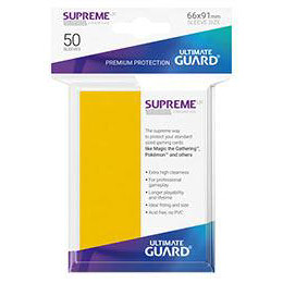 UGD SUPREME UX SLEEVES STANDARD SIZE - YELLOW (50)