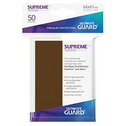UGD SUPREME UX SLEEVES STANDARD SIZE - BROWN (50)