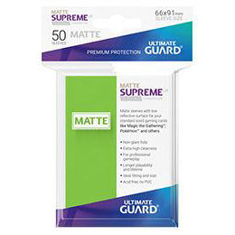 UGD SUPREME UX SLEEVES STANDARD SIZE - MATTE LIGHT GREEN (50)