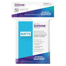 UGD SUPREME UX SLEEVES STANDARD SIZE - MATTE LIGHT BLUE (50)